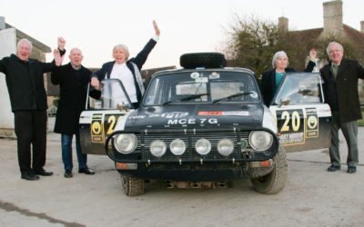 Resurrection! Bringing Bron Burrell's World Cup Rally Maxi back to life